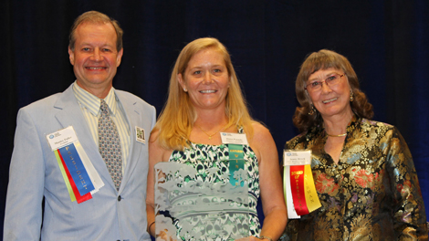 Natures's Academy Conservation Florida Wildlife Federation Educator of the Year, Dana Pounds