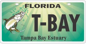 Tampa Bay Estuary License Plate
