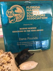 dana pounds nmea 2016 educator of the year award