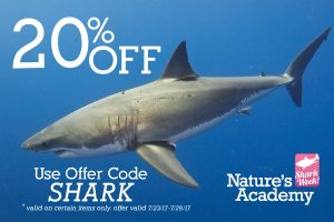 shark week promo codes stem field trip florida